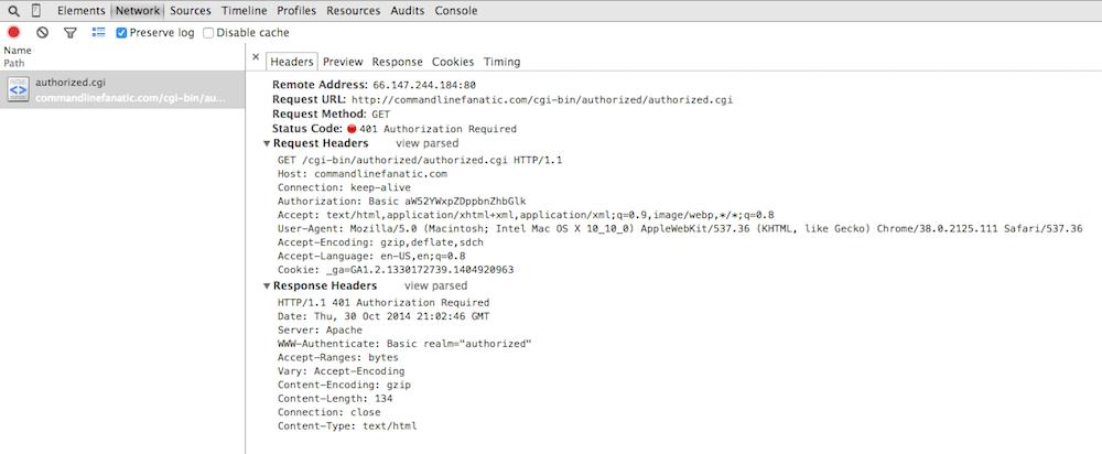 Using the Chrome web developer tools, Part 2: The Network Tab